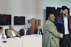 Dr Steve Burian Awarded Civilian Honor by President of Pakistan