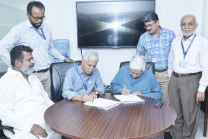 USPCAS-W signs MoU with Seven Distilleries for treatment of effluent
