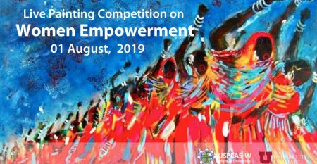 Live Painting Competition on Women Empowerment
