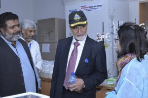 Major General-R Akber Saeed Awan visited US-Pakistan Center for Advanced Studies in Water