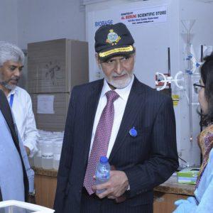 Major General-R Akber Saeed Awan visited US-Pakistan Center for Advanced Studies in Water