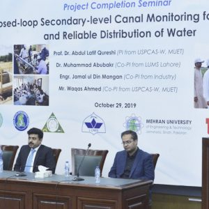 Project Completion Seminar on Closed-loop Secondary-level Canal Monitoring for Equitable and Reliable Distribution of Water