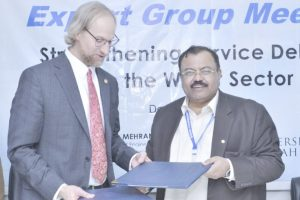 MoU Signed Between USPCAS-W University of Utah and Mehran UET