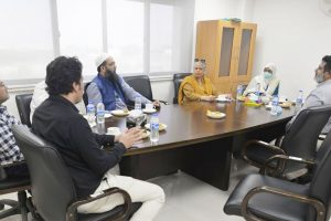 Director General of the National Institute of Oceanography Pakistan Dr Samina Kidwai, visited the USPCAS-W Mehran UET